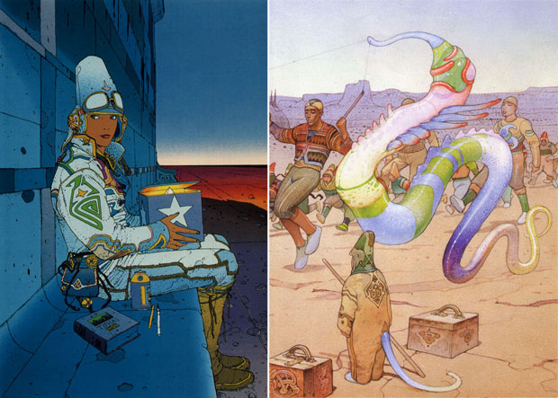 Moebius - StarWatcher and other