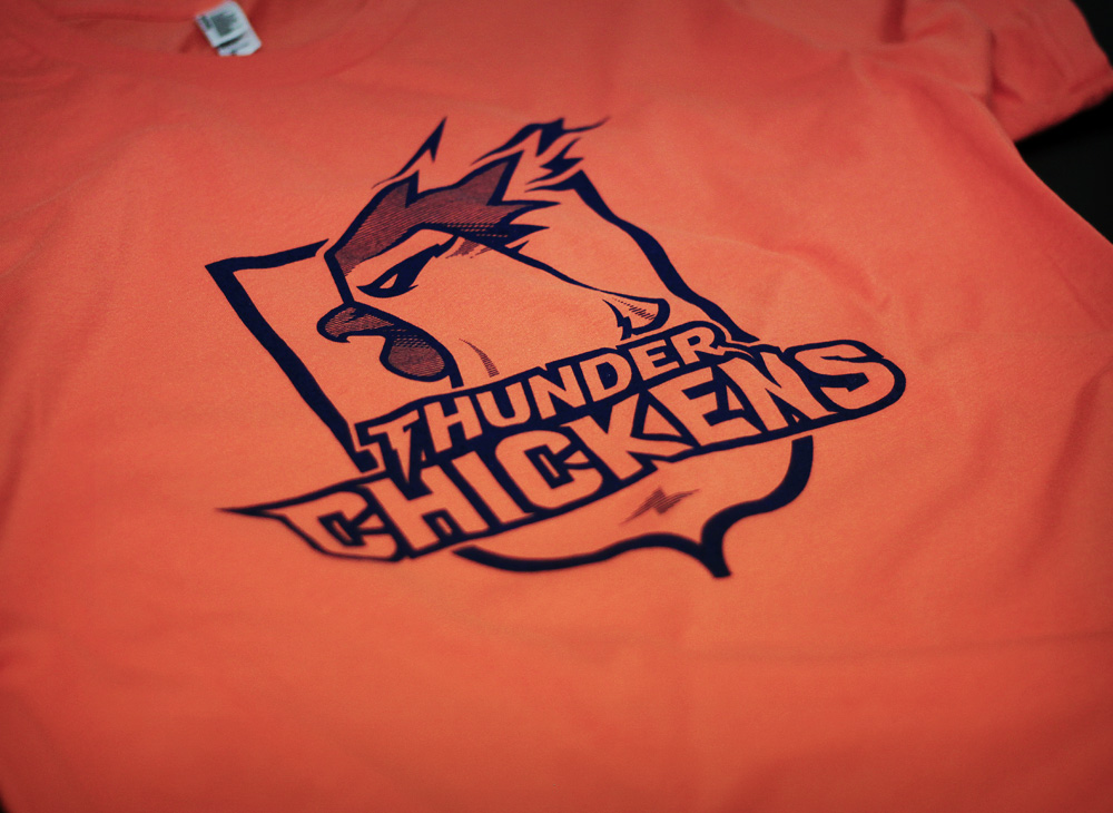 Thunder Chickens T-shirt