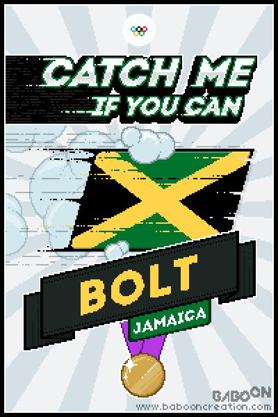Olympixels - Bolt