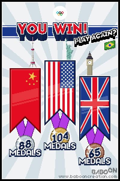 Olympixels- You win