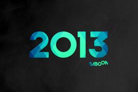 Baboon Wallpaper 2013 - noir
