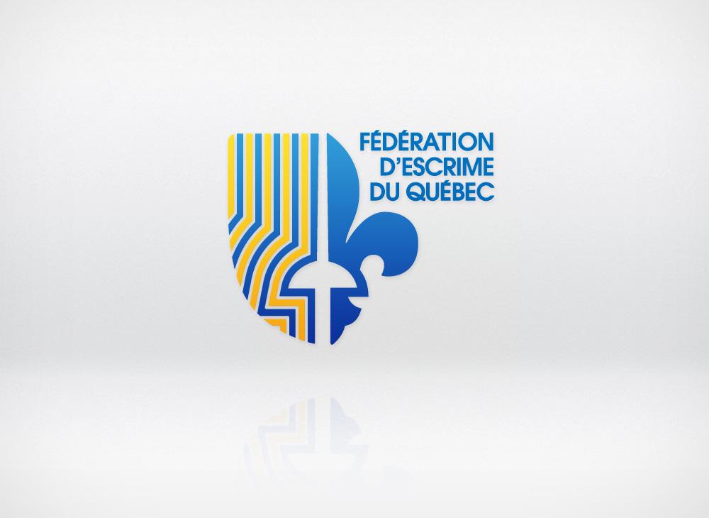 Logo - Fédération d'escrime du Québec