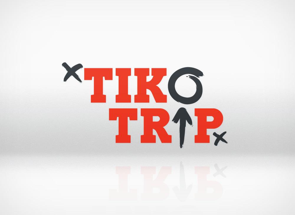 Tikotrip logo design
