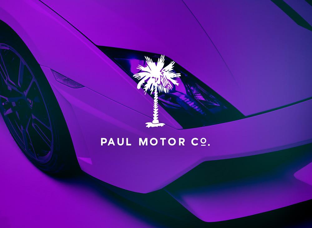 Paul Motor Company Logo 2