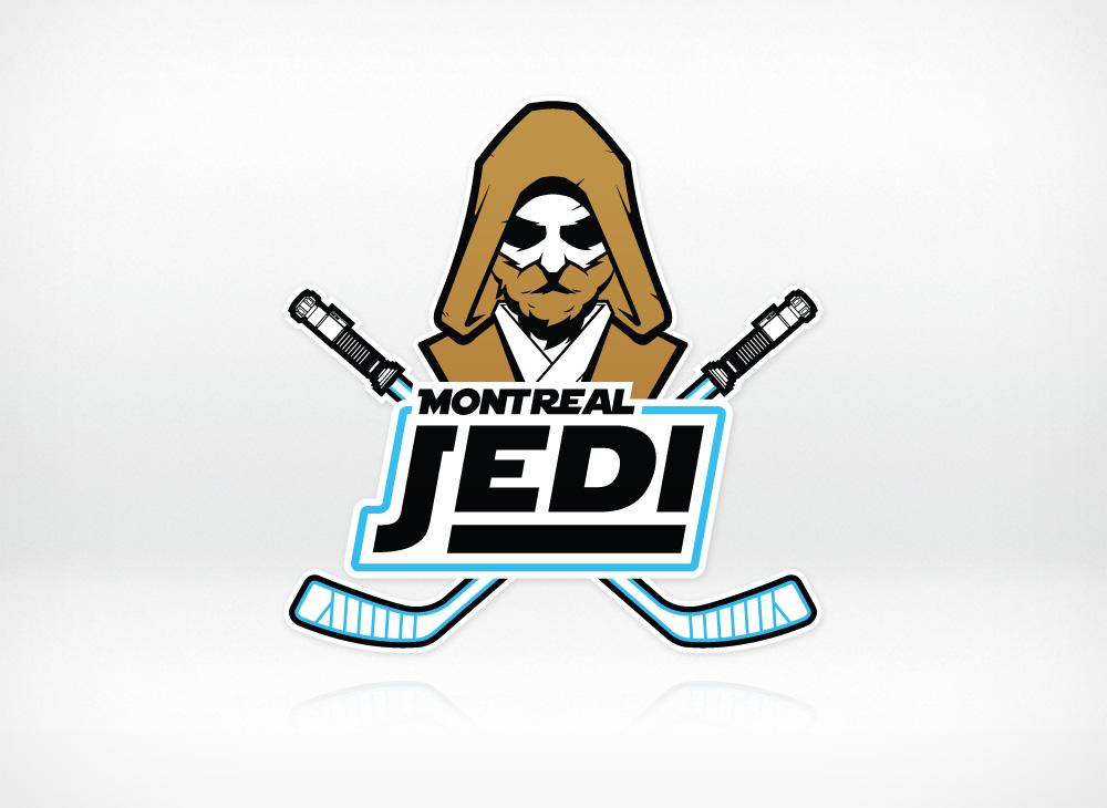 Montreal Jedi logo design
