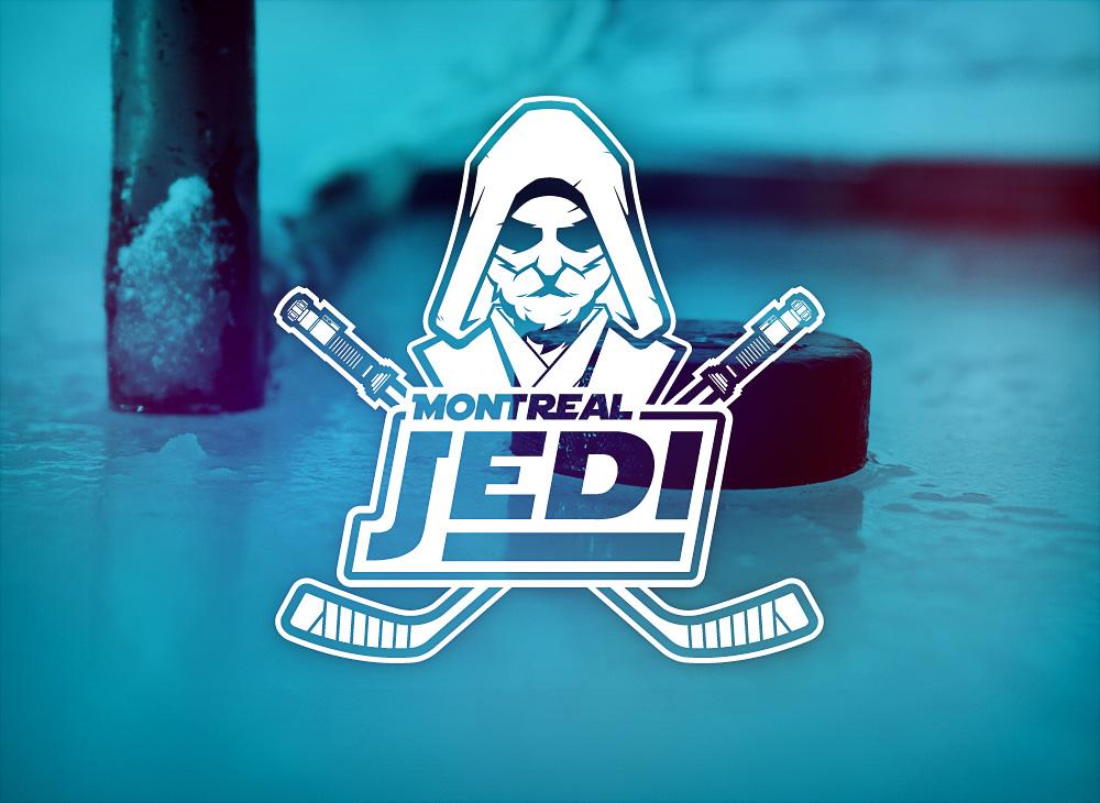 Montreal Jedi logo design - 2