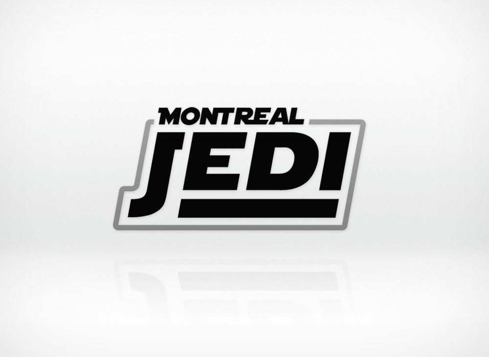 Montreal Jedi custom typography