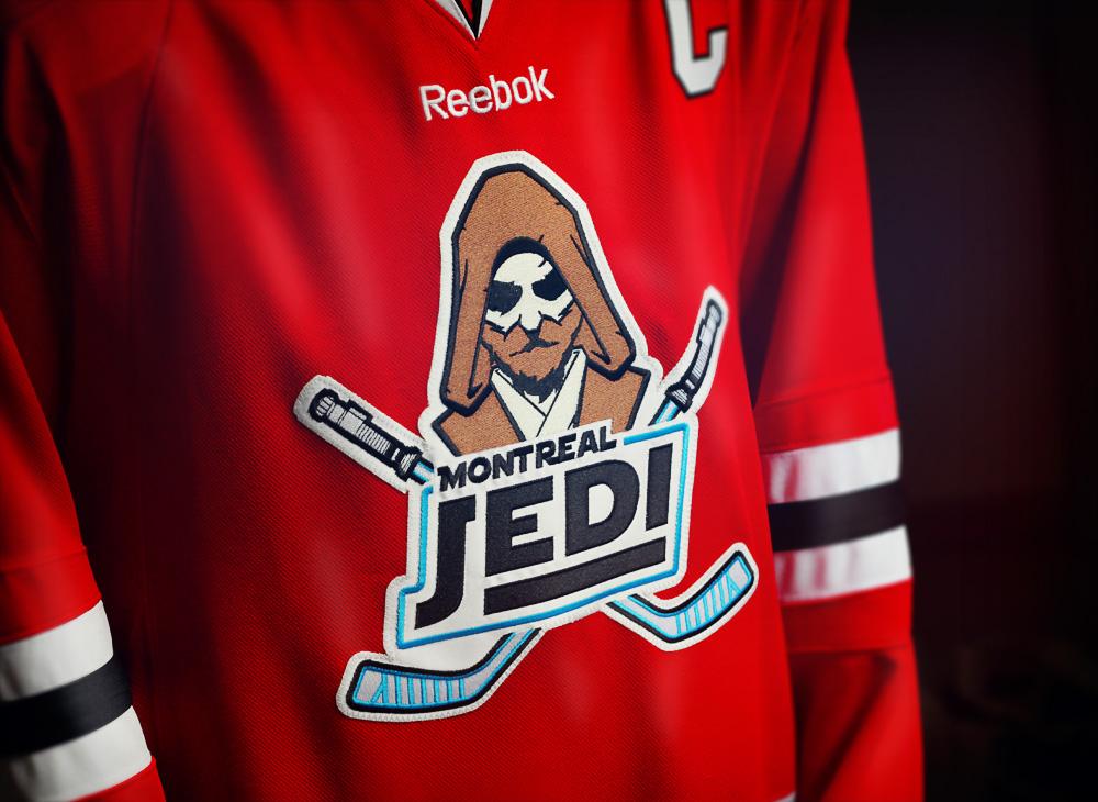 Montreal Jedi hockey jersey