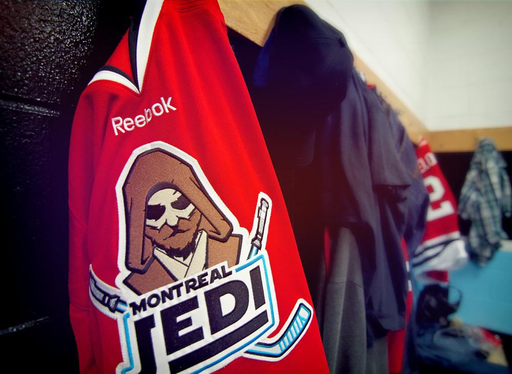 Montreal Jedi jersey detail