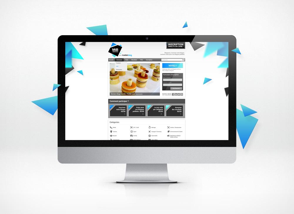 MIB awards homepage