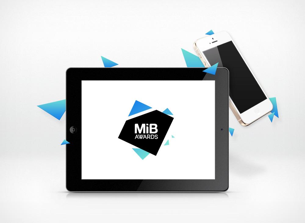 MIB Awards logo design