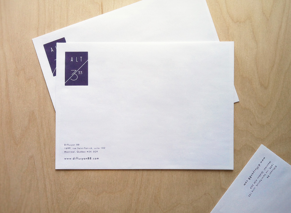 Alt 3,33 Enveloppes