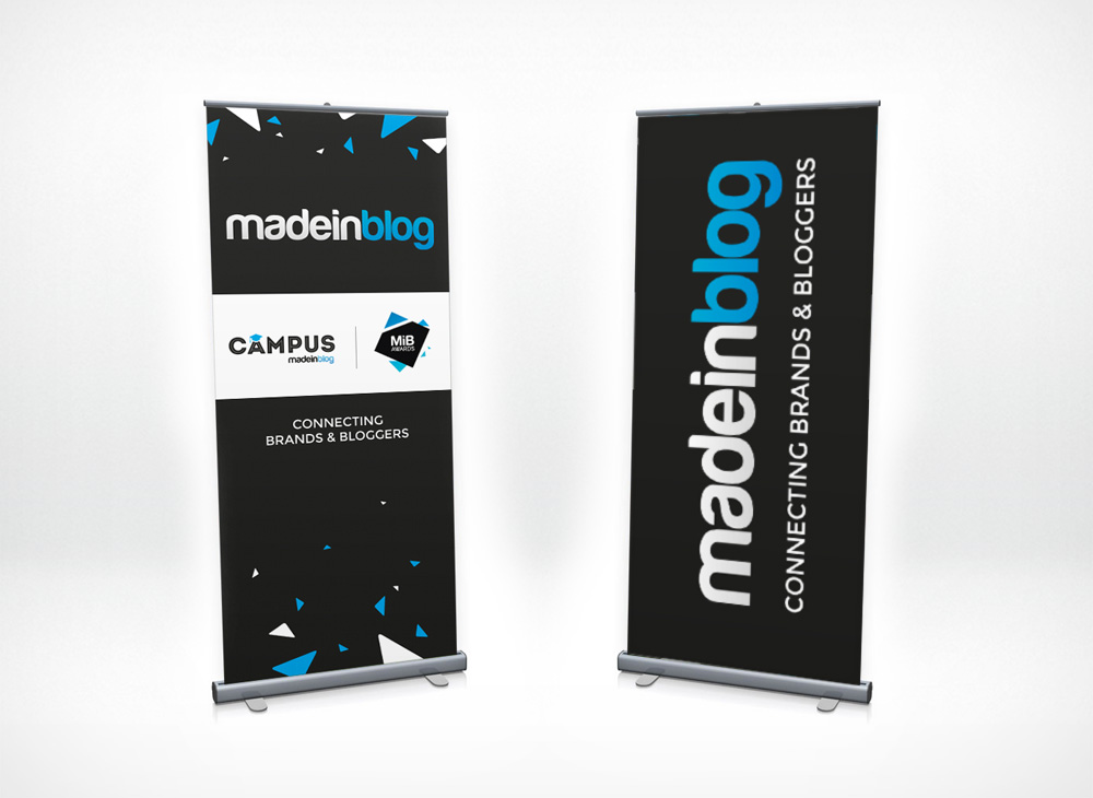 Pop-up banners design for Campus MiB
