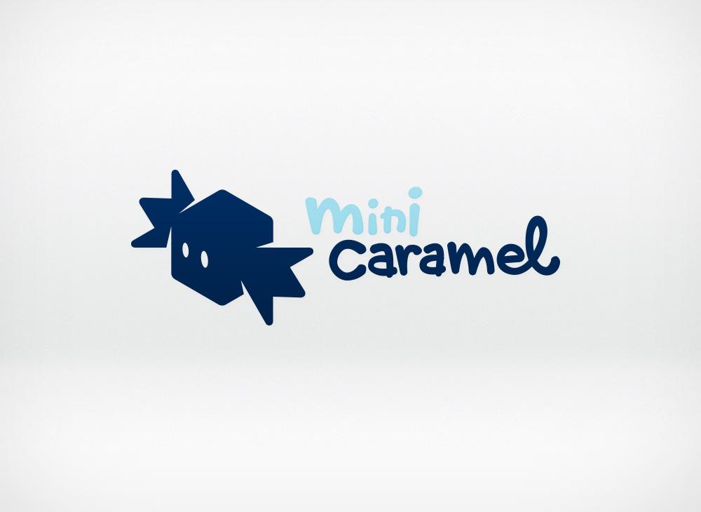 Mini Caramel Logo design