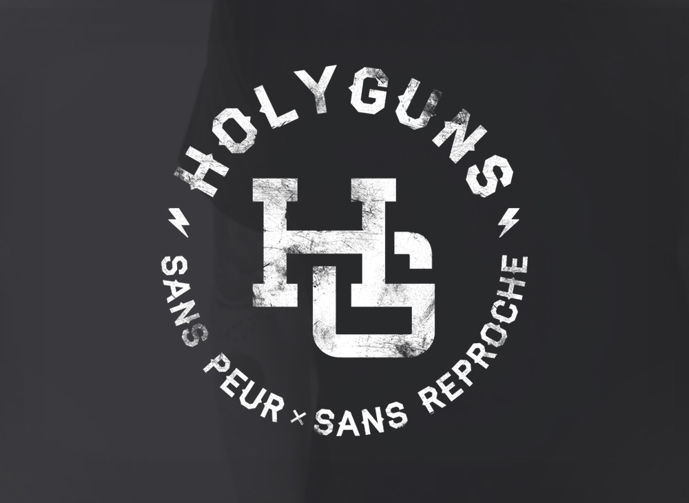 HolyGuns Branding and illustrations
